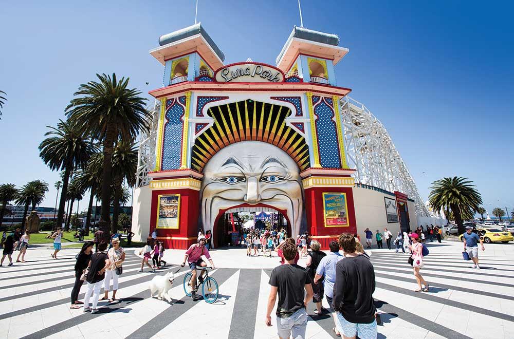 Luna Park-Melbourne City Tours