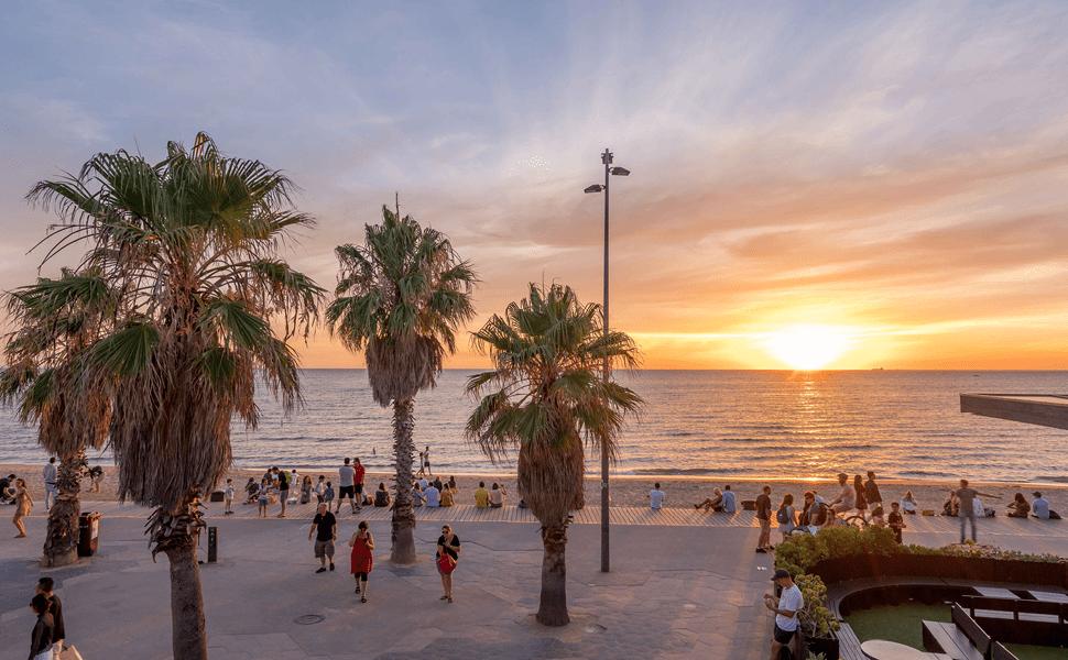 St Kilda Beach - Melbourne City Tours